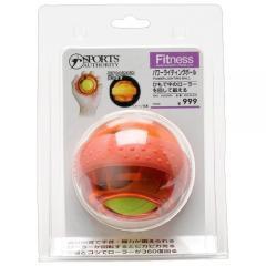 s.a.gear(エスエーギア)フィットネス 健康 ハンドヘルド パワーライティングボール オレンジ S09-55-030 ORANGE