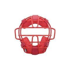 (送料無料)MIZUNO(ミズノ)野球 キャッチャーギア/ヘルメット 軟式用マスク 2QA357 メンズ レッド