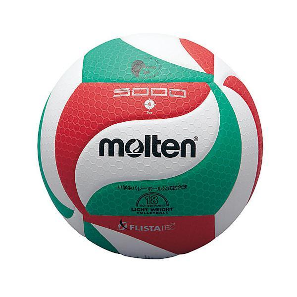molten(モルテン)バレーボール 4号ボール フリスタテックボール 4号球 V4M5000 4 WHT