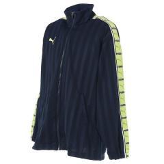 (送料無料)PUMA(プーマ)メンズスポーツウェア ウォームアップジャケット トレーニングジャケット 86221685 メンズ ネイビー/ワイルド ライム