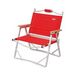 (セール)COLEMAN(コールマン)キャンプ用品 ファミリーチェア コンパクトフォールディングチェア レッド 2011 170-7670
