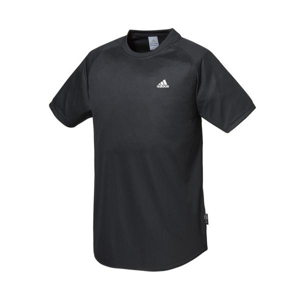 (セール)adidas(アディダス)バレーボール 半袖Tシャツ メンズ ワンポイントTシャツ 118558 NVY NAVY