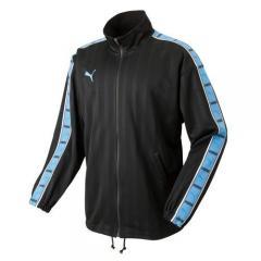 (送料無料)PUMA(プーマ)メンズスポーツウェア ウォームアップジャケット トレーニングジャケット 86221686 メンズ ブラック/サックス