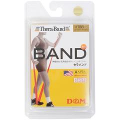 D&M(ディーアンドエム)フィットネス 健康 ハンドヘルド THERA BAND GLD NEW TBB-7 GLD