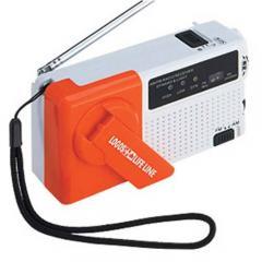 LOGOS(ロゴス)キャンプ用品 防災グッズ 2電源 クランクチャージ ラジオライト 82100240