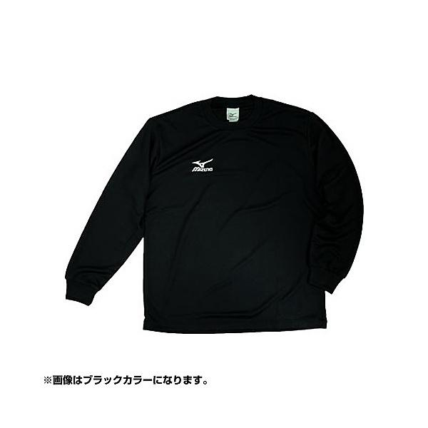 (セール)MIZUNO(ミズノ)バレーボール 長袖Tシャツ ロングTシャツ A60SP21601 メンズ ホワイト