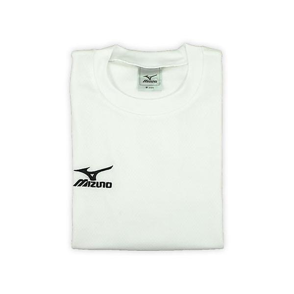 MIZUNO(ミズノ)バレーボール 長袖Tシャツ ロングTシャツ A60SP21601 メンズ ホワイト