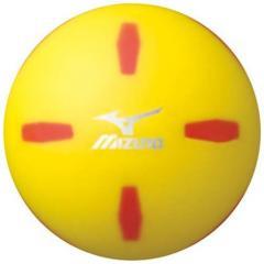 MIZUNO(ミズノ)パークゴルフ ボール パークゴルフボール クロスショット/エス 24OP82000 45 45 イエロー
