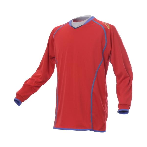(セール)Number(ナンバー)バレーボール 長袖Tシャツ バレー長袖ゲームシャツ NB12-52-001 RED メンズ RED