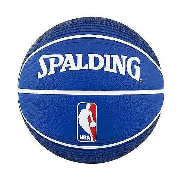 SPALDING(スポルディング)バスケットボール 7号ボール NBA LOGOMAN BLU 7 73-359Z 7 ブルー