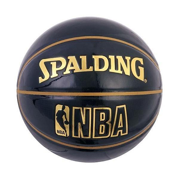 SPALDING(スポルディング)バスケットボール 7号ボール UNDER GLASS BLK 74-486Z 7 ブラック