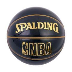 <LOHACO> SPALDING(スポルディング)バスケットボール 7号ボール UNDER GLASS BLK 74-486Z 7 ブラック画像