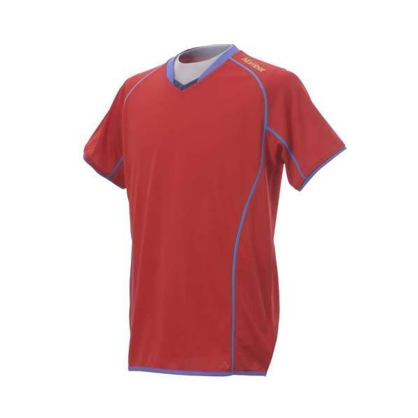 (セール)Number(ナンバー)バレーボール 長袖Tシャツ ナンバー 半袖ゲームシャツ NB13-52-002 RED メンズ RED