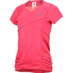 adidas(アディダス)テニス バドミントン レディース半袖シャツ 長袖シャツ レディース FTR ドレスシャツ W Z53556 レディース PINK