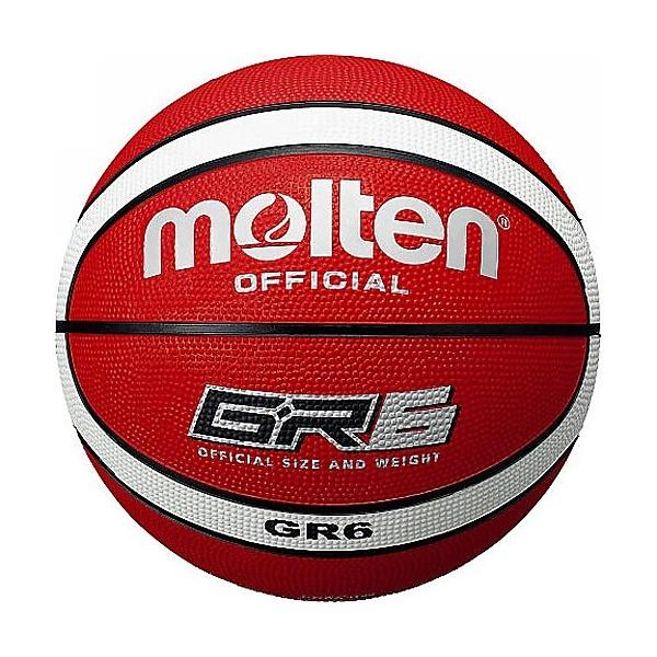 molten(モルテン)バスケットボール 6号ボール 6号球 GR6 BGR6-RW レディース 6 RED