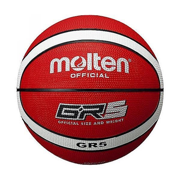 molten(モルテン)バスケットボール 5号ボール 5号球 GR5 BGR5-RW ジュニア 5 RED