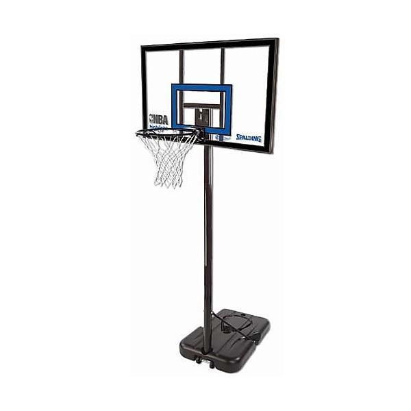 (送料無料)SPALDING(スポルディング)バスケットボール バックボード トイ 【メーカー直送品】ハイライトポータブル 77455CN クリアー