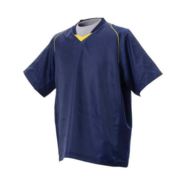(セール)s.a.gear(エスエーギア)バレーボール ウェア バレー半袖ピステ S13-52-020 NVY レディース NAVY