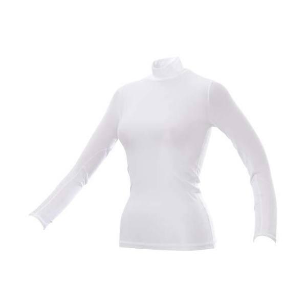 (セール)s.a.gear(エスエーギア)バレーボール 長袖プラクティスシャツ 長袖St.アンダー S13-52-021 WHT レディース WHITE