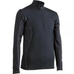 (セール)MIZUNO(ミズノ)ウインター ジュニアインナー ソックス タイツ ブレスサーモ Jr. ジップシャツ A50SJ-52070 ジュニア BLACK