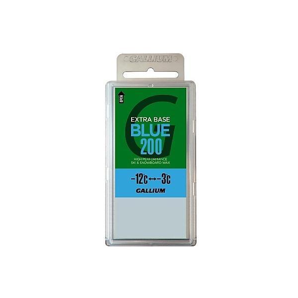 GULLIUM(ガリウム)ウインター ワックス チューンナップ用品 EXTRA BASE BLUE 200G SW2078