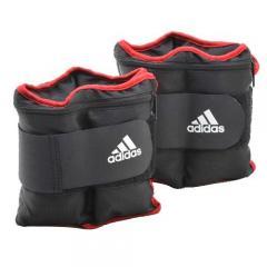 adidas(アディダス)フィットネス 健康 アンクルウェイト アジャスタブル アンクル/リストウエイト プレート 0.25kgx8個 ADWT-12229 ジュニア