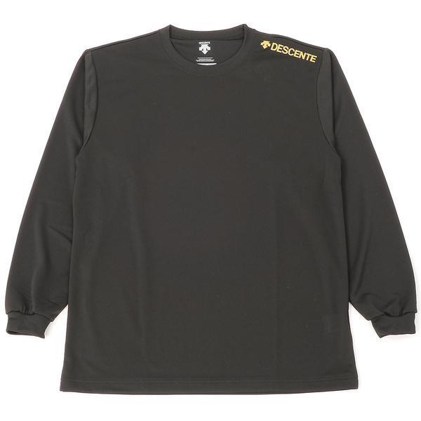 (セール)DESCENTE(デサント)バレーボール 長袖Tシャツ L/S 1POINT TEE DOR-B7285 BGD BGD