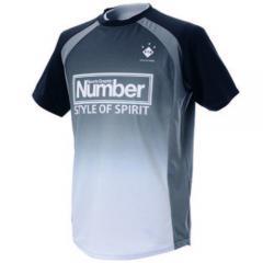 (セール)Number(ナンバー)フットサル 半袖プラクティスシャツ ブラクティスシャツ NB-S14-102-013 BLK メンズ BLACK