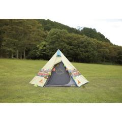 (送料無料)LOGOS(ロゴス)キャンプ用品 ファミリーテント ナバホTEPEE 300 セット 71809511