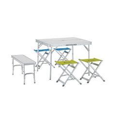 (送料無料)LOGOS(ロゴス)キャンプ用品 ファミリーテーブル テーブルベンチテーブルセット6/メイプル 73183004