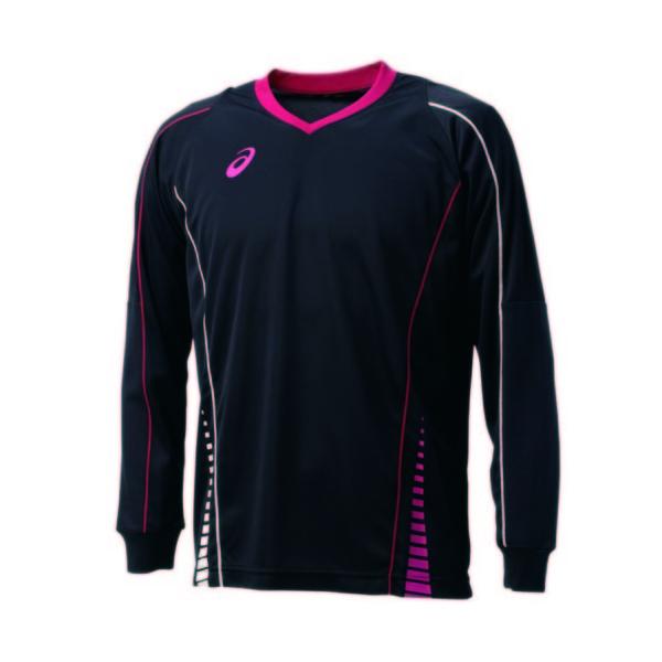 (セール)ASICS(アシックス)バレーボール 長袖プラクティスシャツ 長袖プラクティスシャツ メンズ XW002X.0001 1