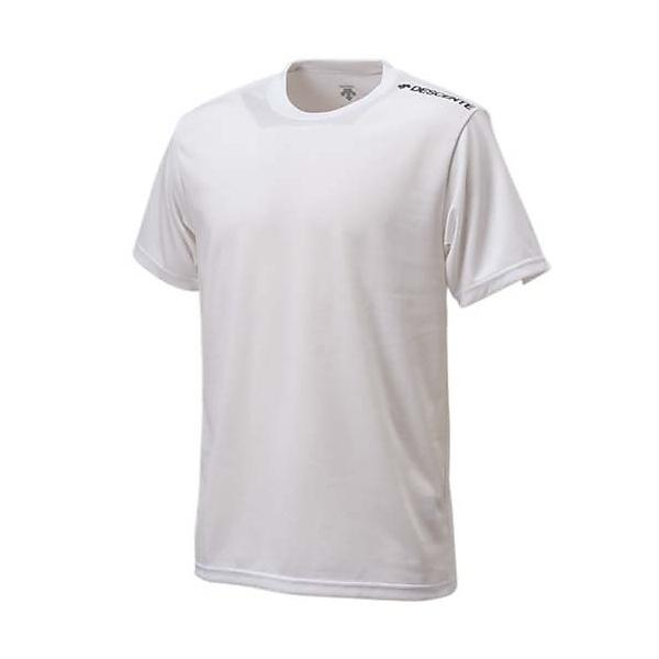 DESCENTE(デサント)バレーボール 半袖Tシャツ H/S 1POINT TEE DOR-B7455 WBK WBK
