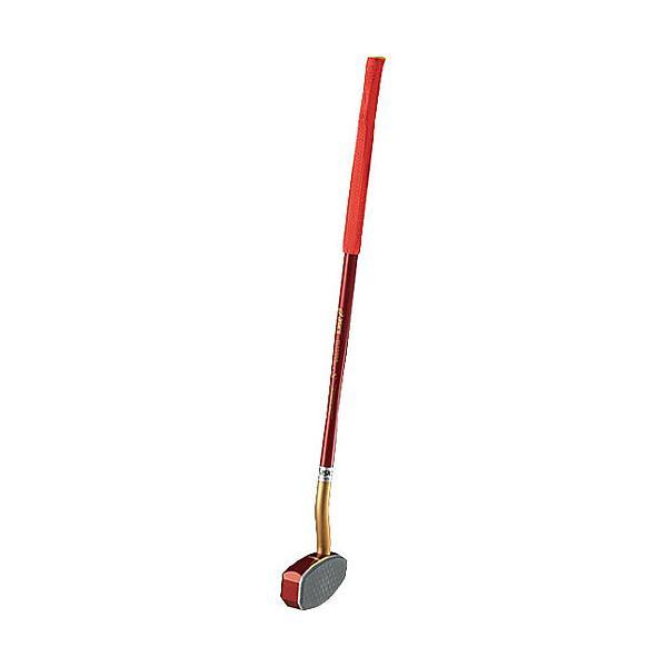 (送料無料)ASICS(アシックス)グラウンドゴルフ クラブ ツインカーブS ミギヨウ GGG178.23 F レツド