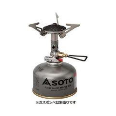 (送料無料)SOTO(ソト) キャンプ用品 ガスバーナー マイクロレギュレーターストーブ 76400308