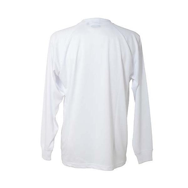 (セール)s.a.gear(エスエーギア)バレーボール 長袖Tシャツ 長袖ワンポイントTシャツ SA-Y14-104-021 WHT WHT