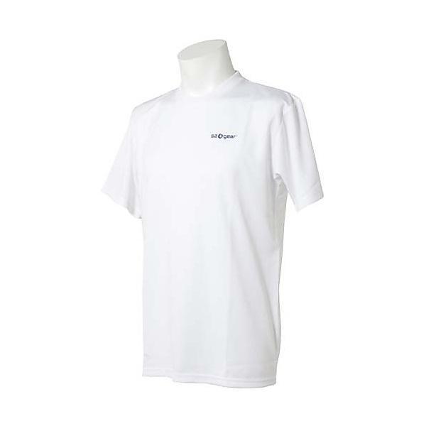 (セール)s.a.gear(エスエーギア)バレーボール 半袖Tシャツ 半袖メッセージTシャツ 排球馬鹿 SA-F14-104-022 WHT WHITE