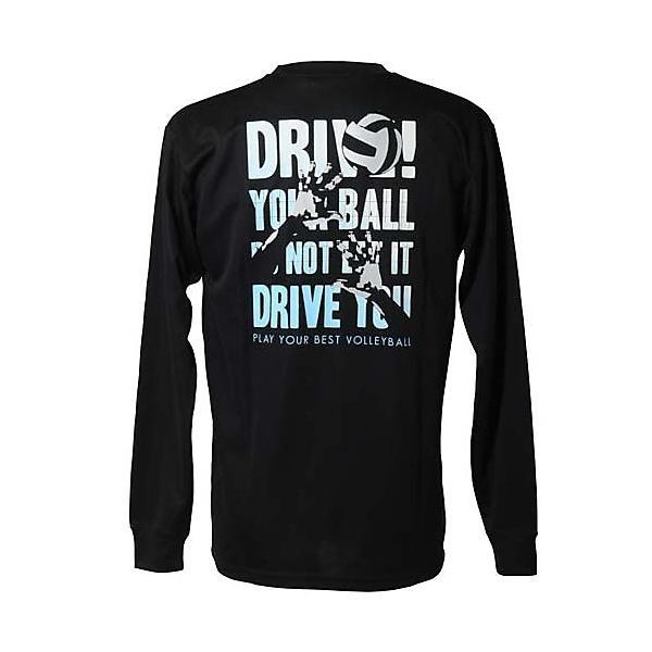 (セール)s.a.gear(エスエーギア)バレーボール 長袖Tシャツ 長袖Tシャツ 半袖グラフィックTシャツ SA-F14-104-023 BLK BLACK