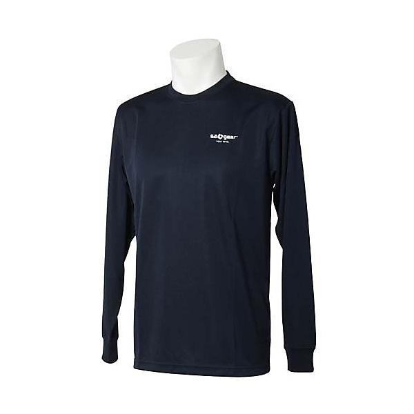 (セール)s.a.gear(エスエーギア)バレーボール 長袖Tシャツ 長袖メッセージTシャツ 勝利 SA-F14-104-024 NVY NAVY