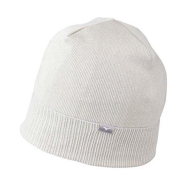 (セール)MIZUNO(ミズノ)ウインター ビーニー ニット帽子 ヘッドアクセ 帽子 ニットキャップ Z2JW450509 メンズ ブラック