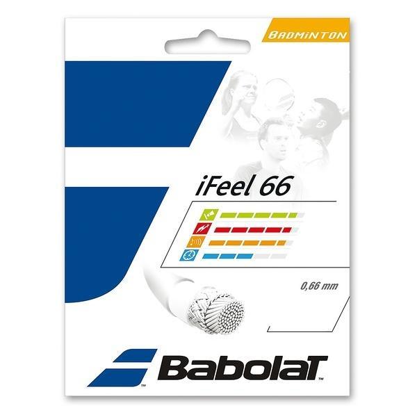 Babolat(バボラ)バドミントン ストリングス I-FEEL 66 BA241127 0.66 ブラック