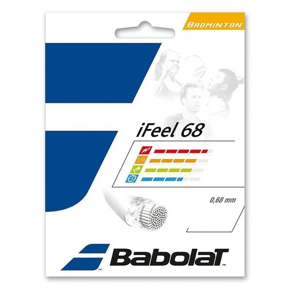 Babolat(バボラ)バドミントン ストリングス I-FEEL 68 BA241128 0.68 ホワイト