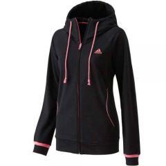 adidas(アディダス)レディーススポーツウェア スウェット W Essentials スウェット パーカー ITT51 M39364 レディース BLACK