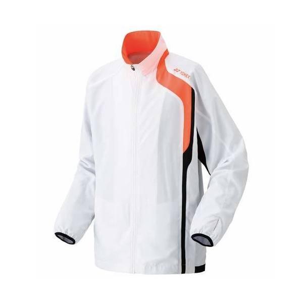 (送料無料)YONEX(ヨネックス)テニス バドミントン ウインドアップ 裏地付きウォームアップシャツ 52003 ホワイト