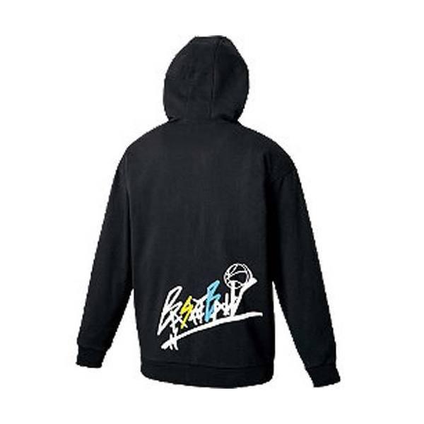 (セール)ASICS(アシックス)バスケットボール メンズ スウェット スウェットパーカ XB6008 90 BLACK