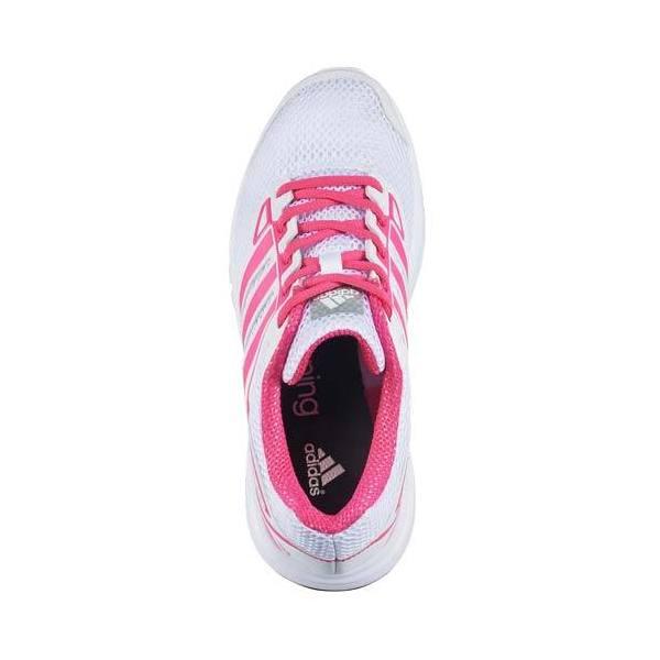 (セール)adidas(アディダス)ランニング レディースジョギングシューズ Galaxy S 4E S82846 レディース WHITE/PINK      ーピンク/コアブラック