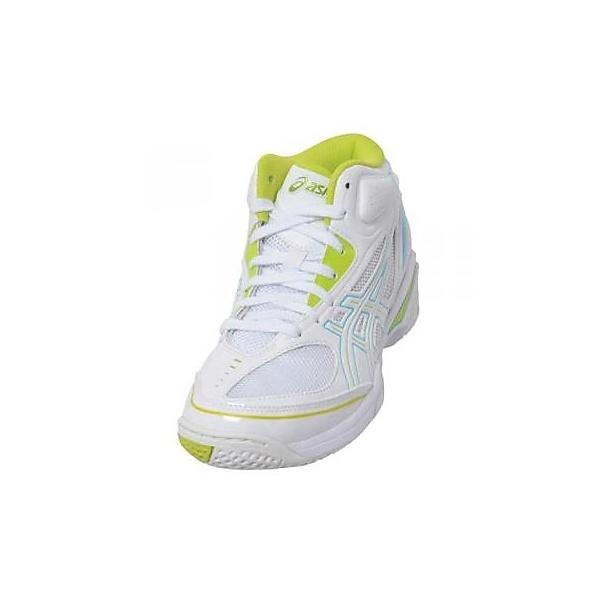 (セール)ASICS(アシックス)バスケットボール ジュニア シューズ GELPRIMESHOT SP3 SA TBF09T.0189 ジュニア ホワイト/ライム