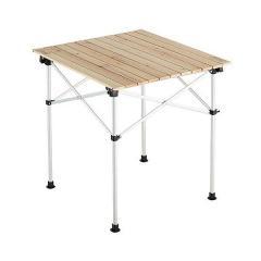 (送料無料)COLEMAN(コールマン)キャンプ用品 ファミリーテーブル テーブル ナチュラルウッドロールテーブル/65 2000023502