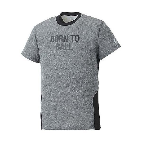 (セール)ASICS(アシックス)バスケットボール メンズ 半袖Tシャツ 半袖プリントTシャツ XB6545.90M BLK
