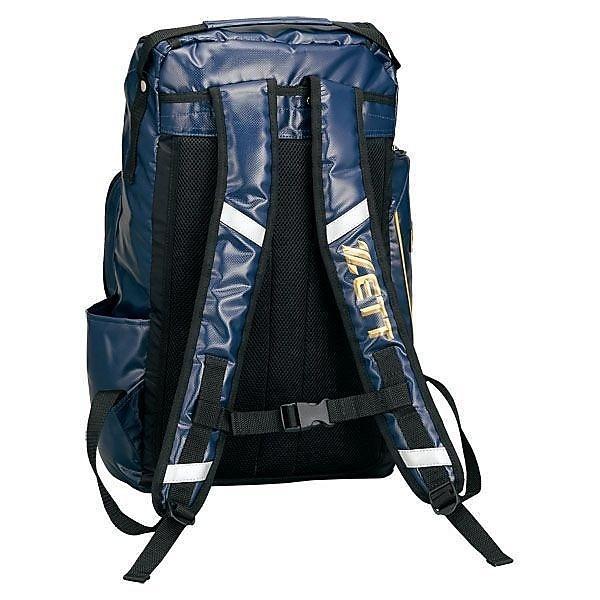 (送料無料)ZETT(ゼット)野球 ショルダーバッグ チームバッグ デイパック BAN400 ネイビー