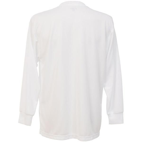 (セール)ASICS(アシックス)バレーボール 長袖Tシャツ 15S 1POINT TEE LS EZO927 0150 WHT/NVY WHITE/NAVY
